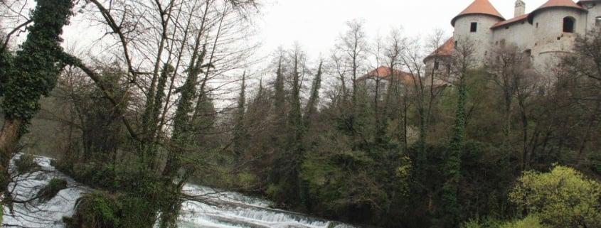 Muharjenje na reki Krki